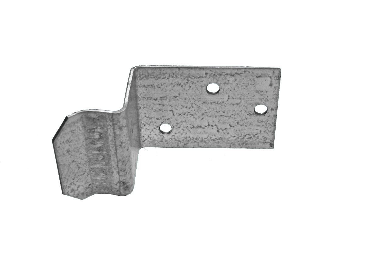 Galvanized Non-Adjustable Door Stop